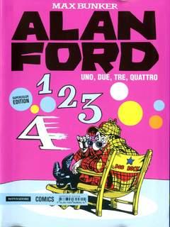Copertina ALAN FORD SUPERCOLOR EDITION n.14 - UNO, DUE, TRE, QUATTRO, MONDADORI COMICS