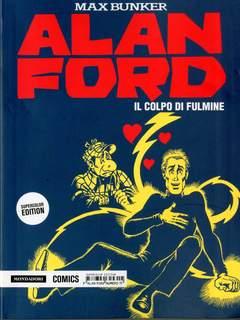 Copertina ALAN FORD SUPERCOLOR EDITION n.15 - IL COLPO DI FULMINE, MONDADORI COMICS