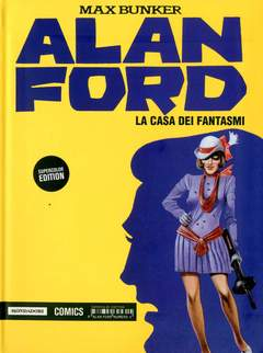 Copertina ALAN FORD SUPERCOLOR EDITION n.4 - ALAN FORD SUPERCOLOR EDITION VOL.04, MONDADORI COMICS