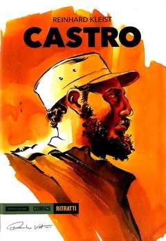 Copertina CASTRO n. - LA BIOGRAFIA A FUMETTI, MONDADORI COMICS