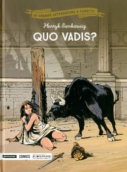 Copertina GRANDE LETTERATURA A FUMETTI n.18 - QUO VADIS?, MONDADORI COMICS