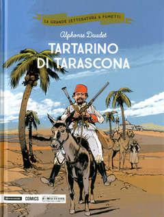 Copertina GRANDE LETTERATURA A FUMETTI n.30 - TARTARINO DI TARASCONA, MONDADORI COMICS