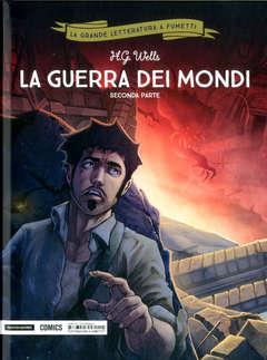 Copertina GRANDE LETTERATURA A FUMETTI n.33 - LA GUERRA DEI MONDI 2, MONDADORI COMICS