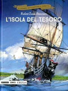 Copertina GRANDE LETTERATURA A FUMETTI n.1 - L'ISOLA DEL TESORO, MONDADORI COMICS