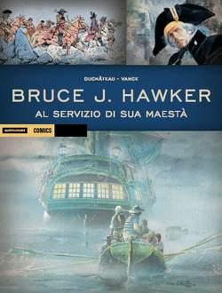 Copertina HISTORICA n.31 - BRUCE J. HAWKER VOL.2 - AL SERVIZIO DI SUA MAESTA', MONDADORI COMICS