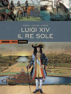Copertina HISTORICA n.51 - LUIGI XIV - IL RE SOLE, MONDADORI COMICS