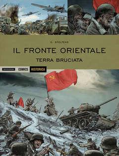 Copertina HISTORICA n.52 - IL FRONTE ORIENTALE - TERRA BRUCIATA, MONDADORI COMICS