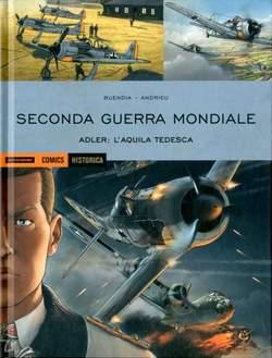 Copertina HISTORICA n.80 - ADLER: L'AQUILA TEDESCA, MONDADORI COMICS