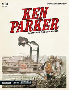 Copertina KEN PARKER CLASSIC n.23 - KEN PARKER CLASSIC VOL.23: LA REGINA DEL MISSOURI, MONDADORI COMICS