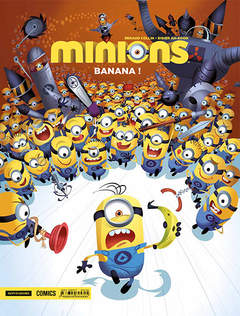Copertina MINIONS n.1 - MINIONS VOL.1: BANANA!, MONDADORI COMICS