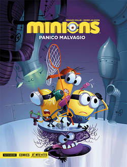 Copertina MINIONS n.2 - MINIONS VOL.2: PANICO MALVAGIO, MONDADORI COMICS