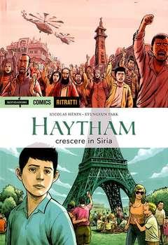 Copertina RITRATTI n.2 - HAYTHAM: CRESCERE IN SIRIA, MONDADORI COMICS