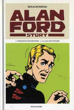 Copertina ALAN FORD STORY n.2 - ALAN FORD STORY              2, MONDADORI EDITORE