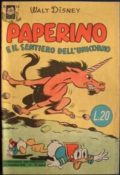 Copertina ALBI DELLA ROSA n.15 - Paperino e il sentiero dell'unicorno, MONDADORI EDITORE