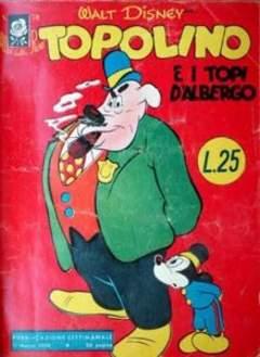 Copertina ALBI DELLA ROSA n.70 - Topolino e i topi d'albergo, MONDADORI EDITORE
