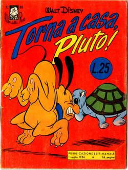 Copertina ALBI DELLA ROSA n.86 - Torna a casa, Pluto!, MONDADORI EDITORE