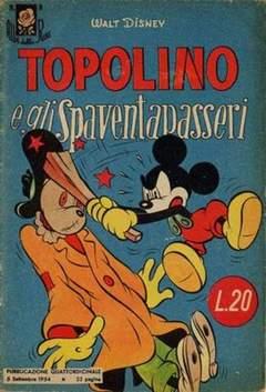 Copertina ALBI DELLA ROSA n.9 - Topolino e gli spaventapasseri, MONDADORI EDITORE