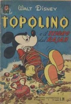 Copertina ALBI DELLA ROSA n.1 - Topolino e il tesoro del Rajah, MONDADORI EDITORE