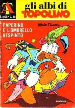Copertina ALBI DI TOPOLINO n.1028 - Paperino e l'ombrello respinto, MONDADORI EDITORE