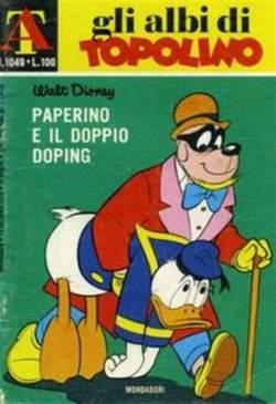 Copertina ALBI DI TOPOLINO n.1049 - Paperino e il doppio doping, MONDADORI EDITORE