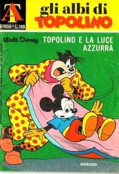 Copertina ALBI DI TOPOLINO n.1056 - Topolino e la luce azzurra, MONDADORI EDITORE