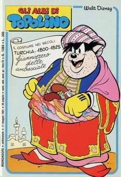 Copertina ALBI DI TOPOLINO n.1384 - ALBI DI TOPOLINO  1384, MONDADORI EDITORE