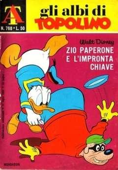Copertina ALBI DI TOPOLINO n.768 - Zio Paperone e l'impronta chiave, MONDADORI EDITORE