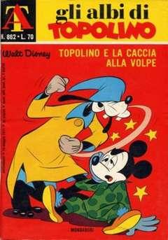 Copertina ALBI DI TOPOLINO n.862 - Topolino e la caccia alla volpe, MONDADORI EDITORE