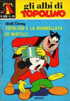 Copertina ALBI DI TOPOLINO n.880 - Topolino e la marmellata di mirtilli, MONDADORI EDITORE