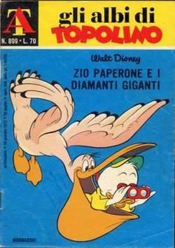 Copertina ALBI DI TOPOLINO n.899 - Zio Paperone e i diamanti giganti, MONDADORI EDITORE