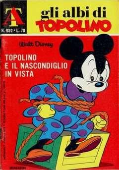 Copertina ALBI DI TOPOLINO n.952 - Topolino e il nascondiglio in vista, MONDADORI EDITORE