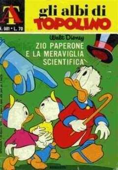 Copertina ALBI DI TOPOLINO n.981 - Zio Paperone e la meraviglia scientifica, MONDADORI EDITORE