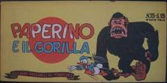 Copertina ALBI TASCABILI DI TOPOLINO n.15 - Paperino e il gorilla, MONDADORI EDITORE