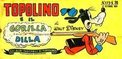 Copertina ALBI TASCABILI DI TOPOLINO n.172 - Topolino e il gorilla Dilla, MONDADORI EDITORE