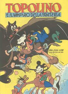 Copertina ALBO D'ORO n.110 - Topolino e il vampiro della prateria, MONDADORI EDITORE