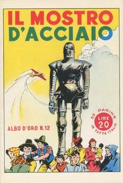 Copertina ALBO D'ORO n.12 - Il mostro d'acciaio, MONDADORI EDITORE