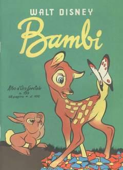 Copertina ALBO D'ORO n.139 - Bambi, MONDADORI EDITORE