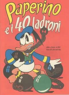 Copertina ALBO D'ORO n.180 - Paperino e i 40 ladroni, MONDADORI EDITORE