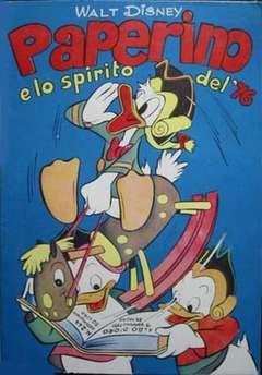 Copertina ALBO D'ORO n.244 - Paperino e lo spirito del '76, MONDADORI EDITORE