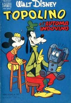 Copertina ALBO D'ORO n.327 - Topolino e l'automa indovino, MONDADORI EDITORE