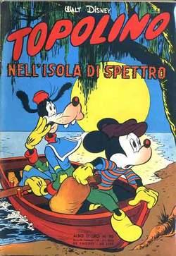 Copertina ALBO D'ORO n.95 - Topolino nell'isola di Spettro, MONDADORI EDITORE