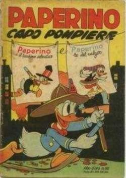 Copertina ALBO D'ORO n.98 - Paperino capo pompiere, MONDADORI EDITORE