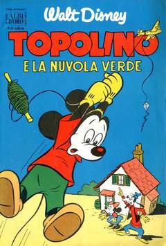 Copertina ALBO D'ORO ANNO 1953 n.34 - Topolino e la nuvola verde, MONDADORI EDITORE