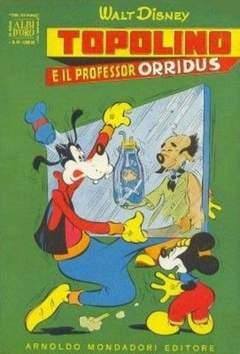 Copertina ALBO D'ORO ANNO 1953 n.48 - Topolino e il professor Orridus, MONDADORI EDITORE