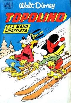Copertina ALBO D'ORO ANNO 1953 n.5 - TOPOLINO E LA MANO GHIACCIATA, MONDADORI EDITORE