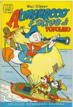 Copertina ALBO D'ORO ANNO 1954 n.26 - Almanacco estivo di Topolino 1954, MONDADORI EDITORE
