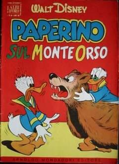 Copertina ALBO D'ORO ANNO 1954 n.38 - Paperino sul Monte Orso, MONDADORI EDITORE
