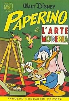 Copertina ALBO D'ORO ANNO 1954 n.2 - Paperino e l'arte moderna, MONDADORI EDITORE