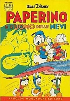 Copertina ALBO D'ORO ANNO 1954 n.6 - Paperino e l'uomo delle nevi, MONDADORI EDITORE