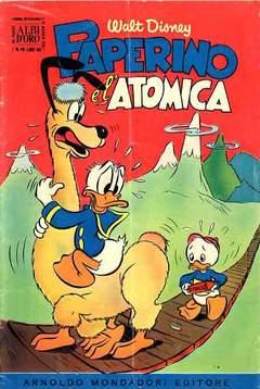 Copertina ALBO D'ORO ANNO 1955 n.19 - Paperino e l'atomica, MONDADORI EDITORE